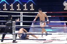 视频-他是世界搏击擂台的实力黑马  重拳将强敌打晕倒地昏迷