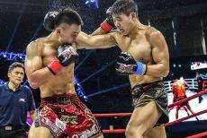 鸿坤昆仑决75kg级冠军赛决出四强,激烈角逐KO不断